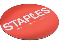 Staples Round Mouse Pad