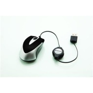 Verbatim Mini Travel Mouse - Mouse - optical - wired - PS/2, USB
