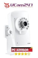 Wireless IP Camera. Quick 3 step install using our Free iPhone, iPad and Android apps. Motion Alerts, Infrared Night Vision, Built-in DVR,