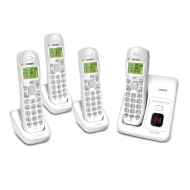 Uniden D1384-4 DECT 4-Handset Cordless Phone System with Answering System