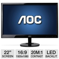 "AOC E2251SWDN 21.5"" Black Full HD"