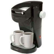 Mr. Coffee SL13 Home Café Single Serve Coffee Maker, Black
