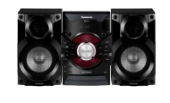 Panasonic SC-AKX18E-K 350W Mini Hi-Fi CD System with Wireless Audio Streaming (New for 2014)