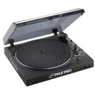 Pyle-Pro PLTTB2U Professional Belt Drive Turntable with USB Interface