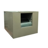 MasterCool 7000 CFM SideDraft WallRoof 8 in Media Evaporative Cooler for 2300 sq ft Motor Not Included