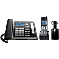RCA 25270RE3 ViSYS 2-line Corded/Cordless Landline Telephone with Answering System and Headset