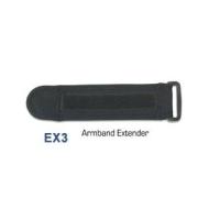 Tunebelt Black Sport Armband Extender EX3