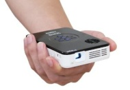 AAXA - P2 Jr. Pico DLP Projector - Gloss White/Black KP-100-02 § KP-100-02