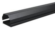 Konig Cache-câble en aluminium canal pour LCD /Plasma Noir