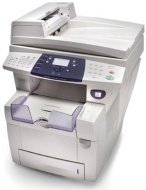 Xerox WorkCentre C2424DN - Multifunction ( printer / copier / scanner ) - color - solid ink - copying (up to): 24 ppm (mono) / 24 ppm (color) - printi
