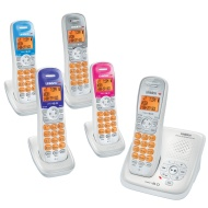 Uniden DECT2180-4-R DECT 6.0 Cordless Phone w/ 3 Additional Handsets