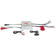 Pyle PLMRMP1A Marine Amplifier - 2 x 100 W @ 4 Ohm - 2 x 300 W @ 2 Ohm - 600 W PMPO - 2 Channel