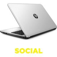 """HP 15-ba078sa 15.6"""" Laptop - White Silver"""