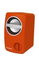 Polaroid PBT501OR Universal Wireless Bluetooth Mini Speaker for Smartphones and Tablets (Orange)