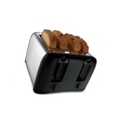 Proctor Silex 4-Slice Toaster - Black/ Chrome (24608)