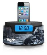 Warner Brothers Batman iPod Clock Radio Dock (50283C-IPH)