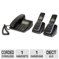 Motorola L703C Dect 6.0 Cordless/Corded Combo