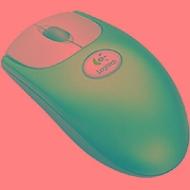 Logitech Wheel Mouse Optical