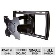 Omnimount Systems Full Motion Mount-Up to 120 Lbs TV Mount Fits Most 4