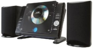 Coby CXCD380 Micro CD Player Stereo System with PLL AM/FM Tuner (Black) (Discontinued by Manufacturer)