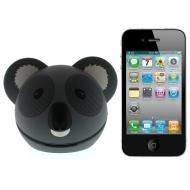 Kitsound Koala Buddy Portable Speaker Compatible with iPod/iPad 2 3/iPhone