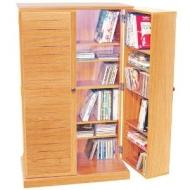 VICTORIA - CD / DVD / Blu-ray Multimedia Storage Cabinet - BEECH