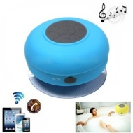 Pixnor BTS-06 Mini Waterproof Hands-free Bluetooth Speaker with MIC Suction Cup for iPhone /iPad /Cellphones (Blue)