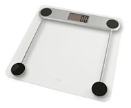 American Weigh Amw-330lpg Low Profile Glass Top Digital Bathroom Scale 330 X 0.2 Pound