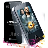 "Jtek 8GB 3"" Touch Screen MP3 / MP4 / Game Player with TV Out, Video Camera/Webcam, FM Radio, Voice Recorder and E-Book Reader **APRIL 2011 Upgraded Ve"