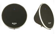 Bush Wireless Stereo Speaker - Black and Silver.