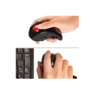 Handheld 2.4GHz Wireless Trackball Optical Mouse Laptop