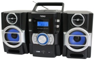 NAXA Electronics Portable MP3/CD Player with PLL FM Radio