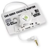 Emerge Technologies Inc Retractable Stereo Cassette Adapter For MP3 & Other Medi