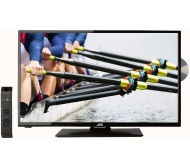 "JVC LT-32C345 32"" LED TV with Built-in DVD Player"