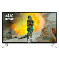 """Panasonic 40EX600B LED HDR 4K Ultra HD Smart TV, 40"""" with Freeview Play & Switch Design Adjustable Stand, Black & Silver"""