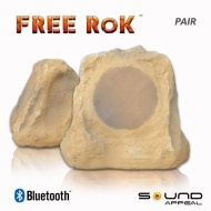 Bluetooth Outdoor Rock Speaker (canyon sandstone) - stereo pair by Sound Appeal