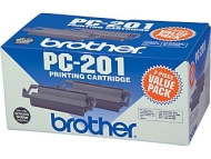 Brother PC–201 Fax Cartridge, 2–Pack