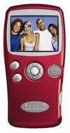 Salton Beyond ePods Digital Video Camera & Portable Entertainment System, Red