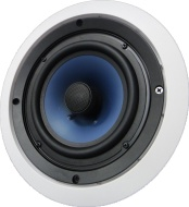 "652C Silver Ticket 6.5"" 80-Watt 2-Way In-Ceiling Speaker with Pivoting Tweeter (1 Speaker, White)"