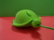 Turtle Optical Mouse Pc Laptop Green