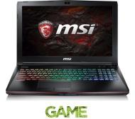 """MSI Apache Pro GE62VR 15.6"""" Gaming Laptop - Black"""