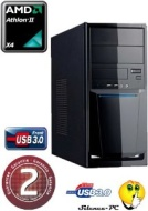 Ankermann PC GAMER Wildcat Synergy Black Edition (4x3, 40GHz)   ZOTAC GeForce GT 630 Synergy Edition 4GB   8GB DDR3 1600MHz RAM   2,0 TB H