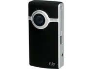 "Flip Ultra Pocket Camcorder - Black, 120 Minute Video Capture, 640 x 480, 2.0"" LCD, Refurbished"