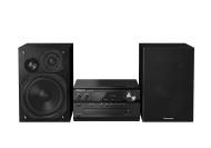 Panasonic SC-PMX70BEGK - Microcadena de 120 W (CD, DAB+, Bluetooth, USB, NFC), negro (importado)