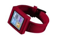 HEX HX1005-REDD Sport Watch Band for iPod Nano Gen 6 (Red)