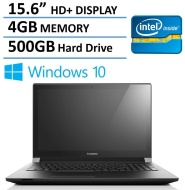 2016 NEW Edition Lenovo 15 Premium Laptop, Intel Dual-Core Processor, 4GB Memory, 500GB Hard Drive, 15.6-inch HD LED Backlit Display (1366 x 768), HDM