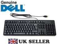 Genuine Original DELL USB Keyboard BLACK SLIM AZERTY FRENCH Layout, Dell P/Ns : MYK2N , 4GK5K, GPH2H , Brand NEW Boxed , FREE DELIVERY