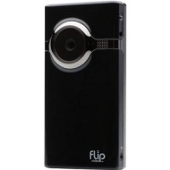 Flip Mino HD Camcorder with 4GB Internal Memory and Widescreen - Black