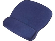 Staples Deluxe Mouse Pad with Gel Wrist Rest