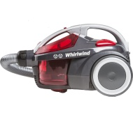 HOOVER Whirlwind SE71_WR01 Cylinder Bagless Vacuum Cleaner – Grey & Red